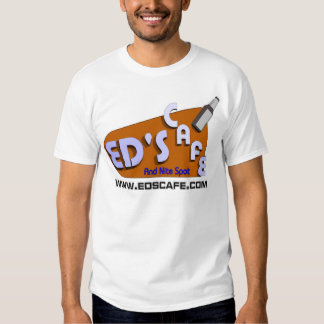 Logotipo /w Niki del café de los Eds Camisas