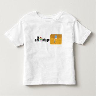 Logotipo y bandera de Adfantage la Argentina Camiseta De Niño