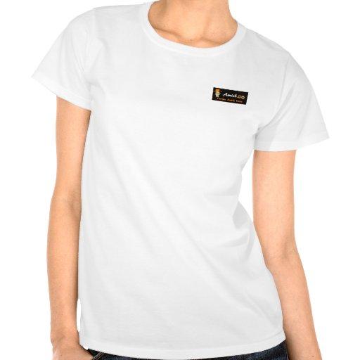 Logotipos de Amish.co Camiseta