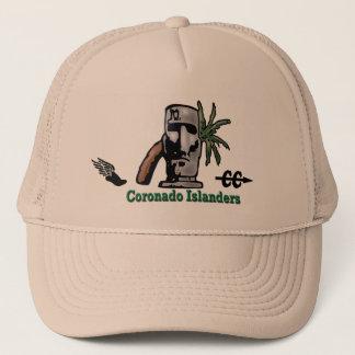 Logotipos de los isleños de Coronado del gorra