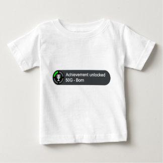 Logro abierto - llevado camiseta de bebé