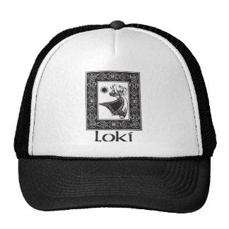 Loki de dios de los nórdises gorro de camionero