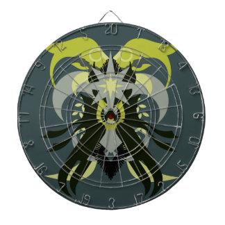 Loki de la abstracción siete tabla dardos