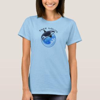 Lolita libre camiseta