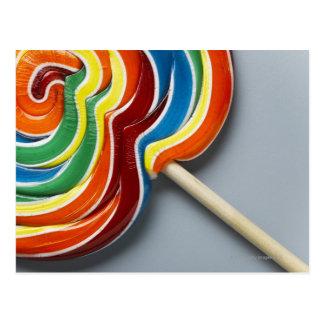 Lollipop multicolor postal