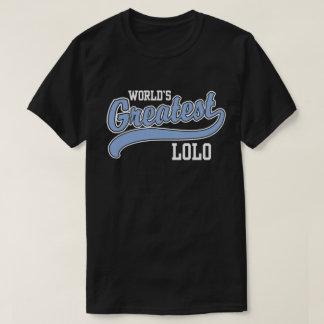 Lolo más grande del mundo camiseta