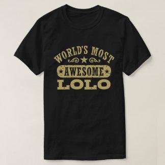 Lolo más impresionante del mundo camiseta