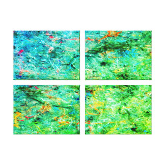 Lona abstracta de la galería de la salpicadura del impresión en lienzo