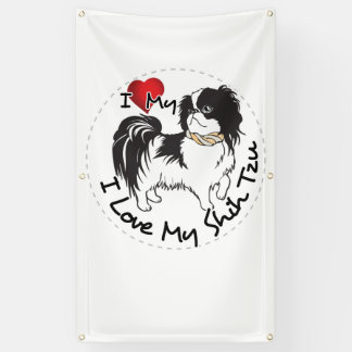 Lona Amo mi perro de Shih Tzu