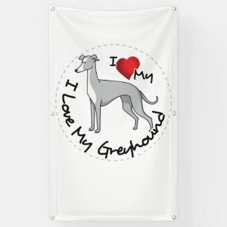 Lona Amo mi perro del galgo