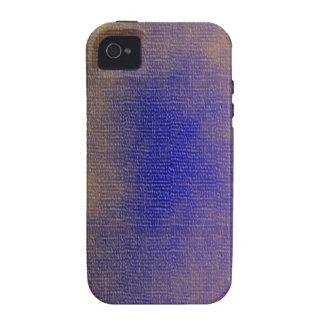 Lona azul vibe iPhone 4 carcasa