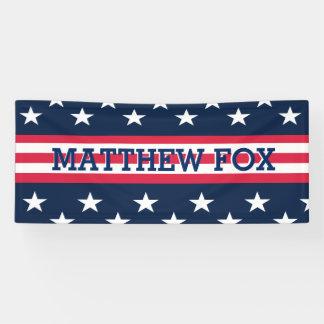 Lona Bandera americana de los E.E.U.U. de las rayas