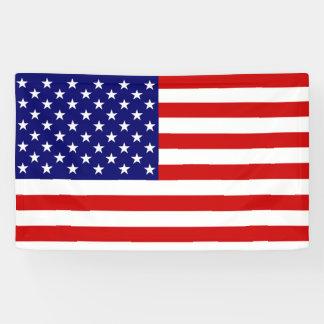 Lona Bandera de la bandera de los E.E.U.U.