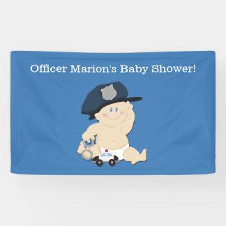 Lona Bandera del personalizado del poli del bebé del