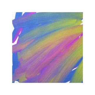 Lona, bella arte, abstracta impresión en lienzo