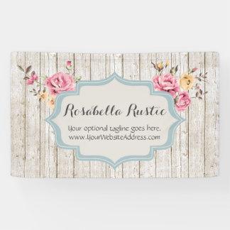Lona Boutique rústico floral elegante lamentable de