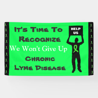 Lona Conciencia de la enfermedad de Lyme no daremos