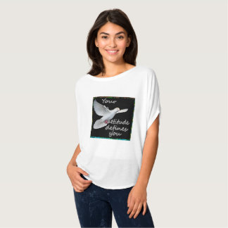 Lona creada para requisitos particulares de Bella Camiseta