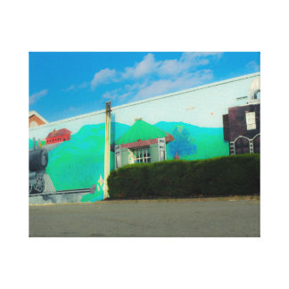 Lona de arte de la calle