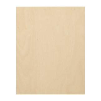 Lona de encargo de madera 11x14 impresión en madera