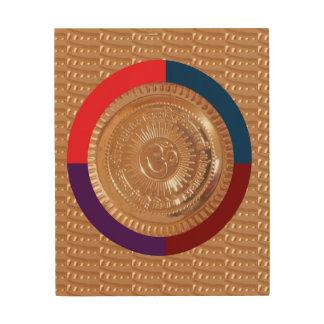 Lona de madera FineART DE PIEDRA CRISTALINO por Impresión En Madera