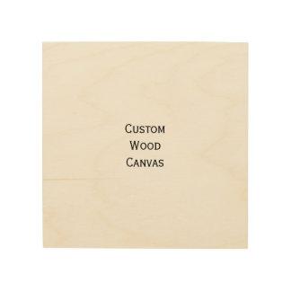 Lona de madera personalizada personalizado de la impresión en madera