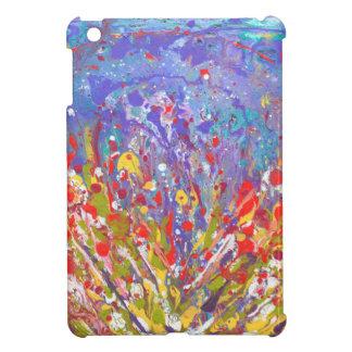 Lona de pintura colorida del prado abstracto de