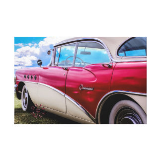 Lona de un siglo 1955 de Buick Riviera Impresión En Lienzo
