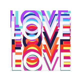 lona del estallido-arte del amor impresión en lona