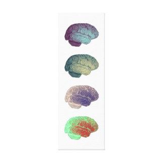 Lona del panel del cerebro impresión en lienzo