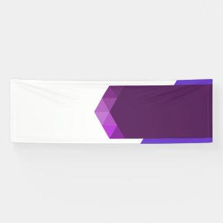 Lona Diseño púrpura moderno de la bandera para el Web y