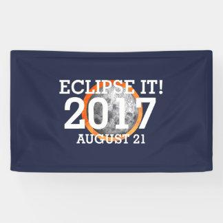 Lona Eclipse de la CAMISETA él 2017