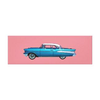 Lona envuelta BelAire clásica 1957 de Chevy del Lienzo Envuelto Para Galerías