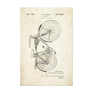 Lona envuelta patente de la bicicleta de Schwinn Lona Estirada Galerias