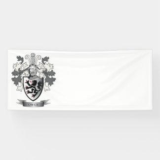 Lona Escudo de armas del escudo de la familia de Owen