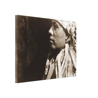 Lona estirada indio del nativo americano de Wichit Impresiones En Lona Estiradas