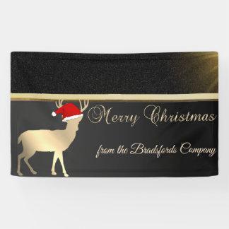 Lona Felices Navidad, Christmas Deer Santa Hat, Company