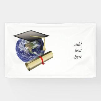 Lona Graduación de calidad mundial - casquillo y