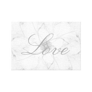 Lona hermosa del amor impresión en lienzo