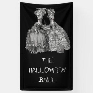 Lona La bola de Halloween (en negro)