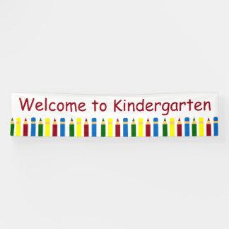 Lona Lápices de los días escolares personalizados