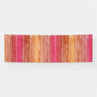 Lona pared de madera colorida