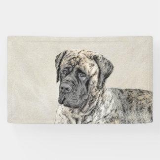 Lona Pintura (Brindle) inglesa del mastín - perro