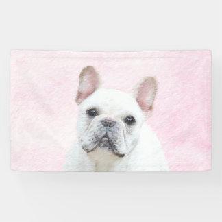 Lona Pintura del dogo francés (crema/blanco) - persiga