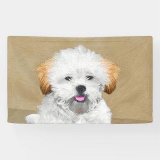 Lona Pintura del perrito de Lasa Apso - arte original