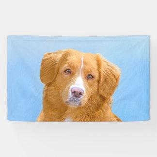 Lona Pintura tocante del perro del perro perdiguero del