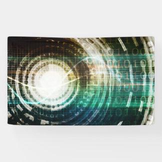 Lona Portal futurista de la tecnología con Digitaces