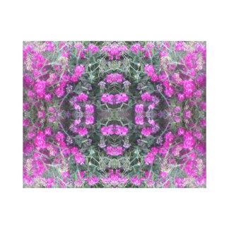 Lona rosada 2016 del verano del fractal del impresión en lienzo