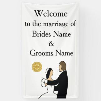 Lona Tema escocés y céltico del boda de los pares