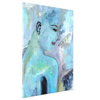 Lona urbana de la princesa pintura de la lienzo